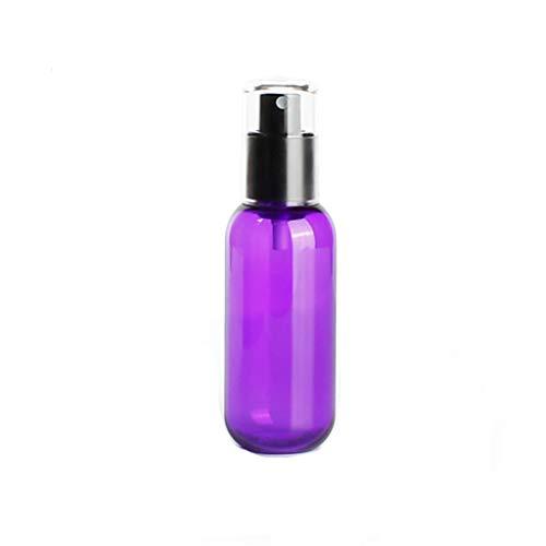 Embotellado en aerosol, tipo de prensa de viaje al aire libre Frasco de botella de niebla fina - Loción Sub-botella Pure Dew aprobada for equipaje de mano ( Color : Purple , Size : 3.5*11.6cm (45ml) )