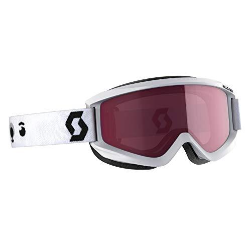 Scott Kinder Skibrille Agent JR Snowboardbrille Schnebrille Winter (White)