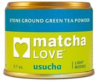 Teas` Tea Matcha Love Usucha Tea 0.7 Oz (Pack Of 10)