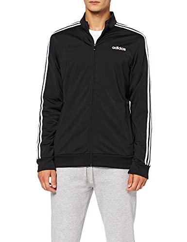 adidas Herren E 3S TT TRIC Sweatshirt, Black/White, M