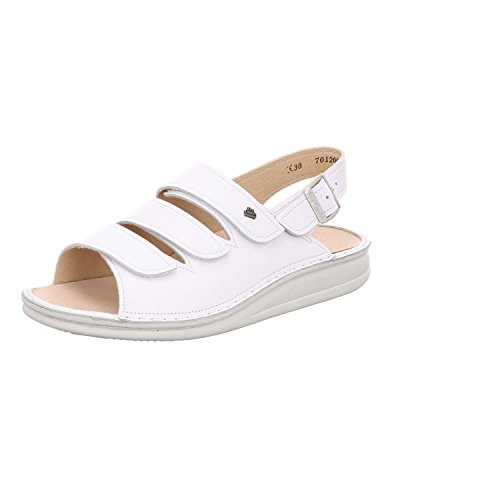 Finn Comfort Sylt- Damenschuhe Sandale bequem/lose Einlage, Weiß