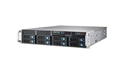 Advantech 2U Rackmount Server Chassis for ATX/MicroATX Motherboard with 8 Hot-Swap HDD Trays & 7 PCIe x16 Expansion