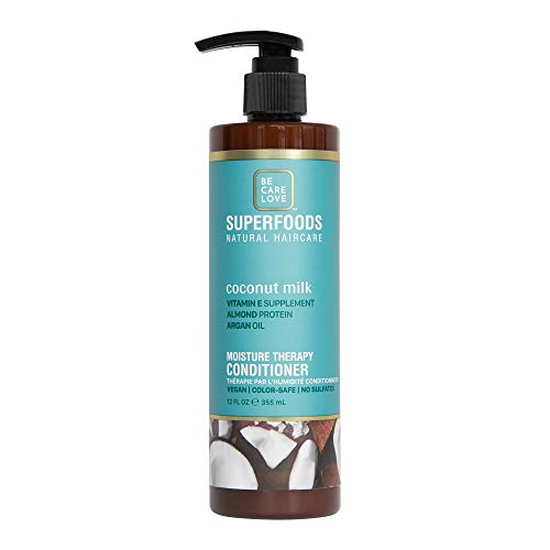 Be Care Love SuperFoods Weightless Moisture Conditioner Coconut Milk 12 oz