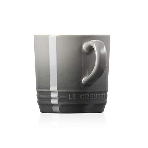 Le Creuset Becher mit Henkel, 200 ml, Steinzeug, 10 cm Höhe, Flint