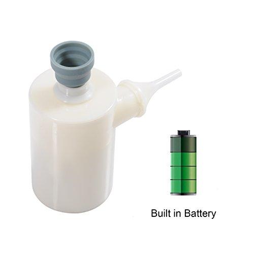 QUMOX La pompa ricaricabile portatile gonfiabile della mini pompa di aria rapidamente si gonfia / deflette per i letti d'aria Materassi Pagaiare piscine Giocattoli Palloni galleggianti