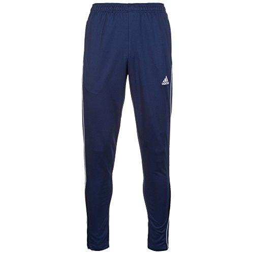 adidas Herren CORE18 TR PNT Sport Trousers, Dark Blue/White, XS