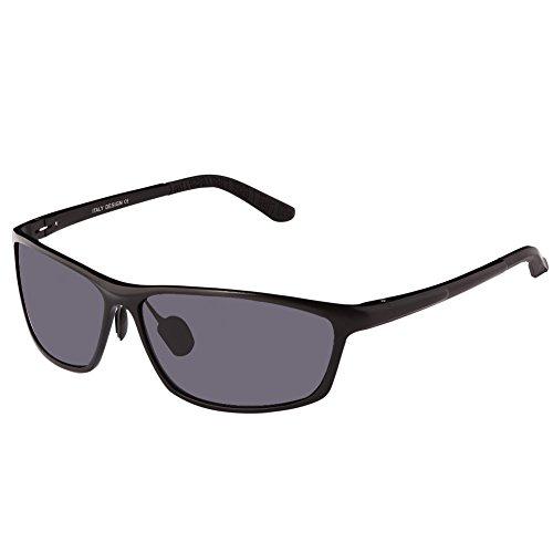 DUCO Polarized Sunglasses for Men Metal Frame Anti Glare Lens Sport Driving...