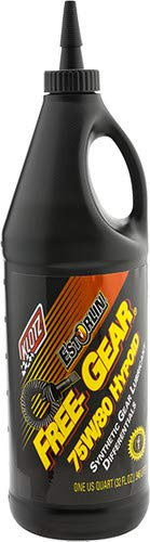 KLOTZ 32oz 75W80 Free-Gear Estorlin Hypoid Differential Lubricant for Racing and Performance Applications Recommended for Arctic Cat Diamond Drive