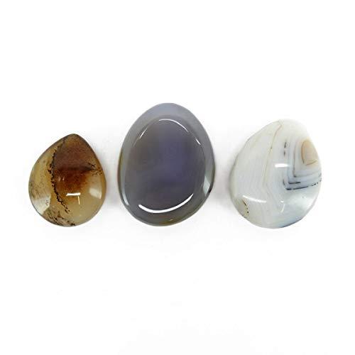 Piedra Cabujón de Agata Dendrítica Minerales y Cristales, Belleza Energética, Meditacion, Amuletos Espirituales