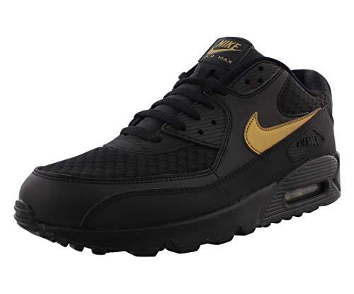 Nike Mens Air Max 90 Essential Black/Gold Av7894 001 Size - 9.5