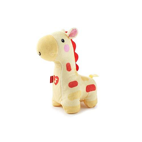 Fisher-Price Ma Girafe Lampe peluche pour bébé, veilleuse lumineuse et sonore, dès la naissance, BFH65