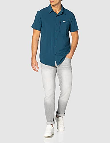 Columbia Triple Canyon II Camisa lisa de manga corta para hombre