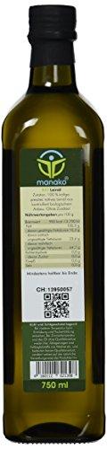 Manako BIO Leinöl human ABSOLUT FRISCH ab Ölmühle Glasflasche, 1er Pack (1 x 750 ml) – Bio - 2