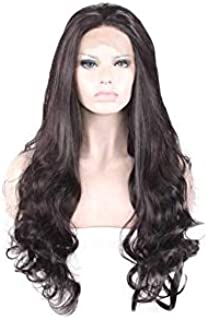 Real Hair Wigs Front Lace Natural Black Wigs 65CM-70CM for Women