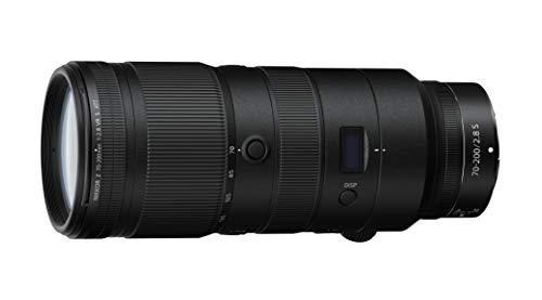 Nikon Nikkor Z 70-200mm f/2.8 VR, Teleobiettivo Zoom a Pieno Formato, FX Mirrorless, Display OLED, Trattamento Arneo, Nero, Nital Card: 4 Anni di Garanzia