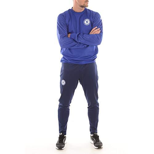 adidas Herren Trainingsanzug Chelsea FC EU TRG PNT XS Blau (azuosc)