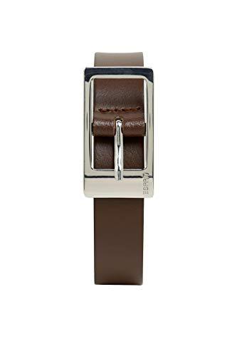ESPRIT Accessoires 999ea1s806 Cintura, Marrone (Brown 210), 7 (Taglia Produttore: 95) Donna