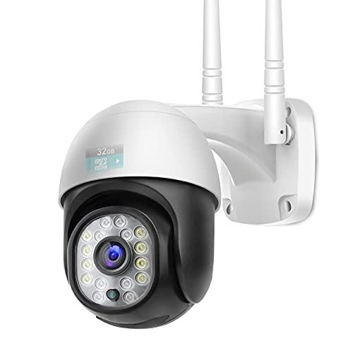 Jennov 5 MP überwachungskamera Set aussen Wlan, 4CH Überwachungssystem 12-Zoll Monitor, Kabellose Sicherheitskameras mit Tonaufnahmen Vorinstalliert, 1 TB Festplatte NVR System