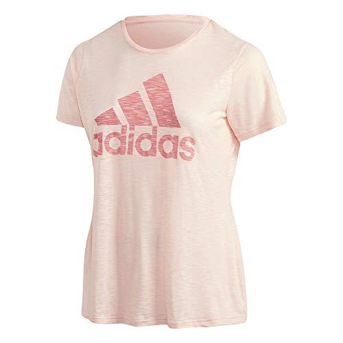 adidas W Win tee IN Camiseta, Mujer, hazcor, 1x