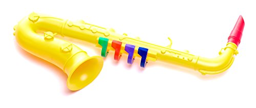Antonelli Yellow Toy Saxophone for Kids