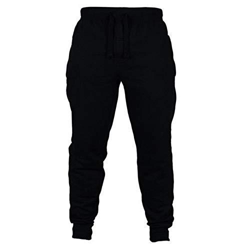 N\P Pantalones casuales para correr de los hombres de la aptitud de la ropa deportiva Pantalones apretados