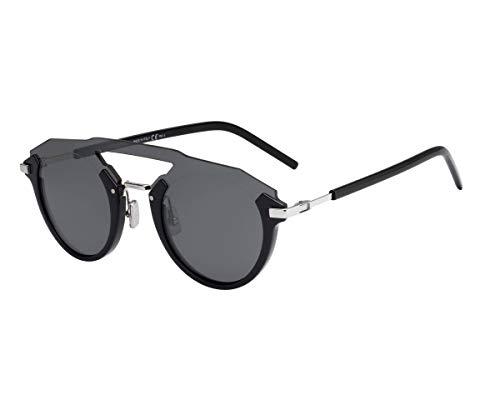 Dior Homme Sonnenbrillen (DIORFUTURISTIC 8072K) schwarz glänzend - palladium-silber - grau