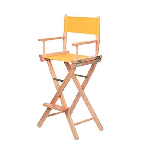 CYY Luggage Rack Kofferständer Massivholz Regiestuhl Klappstuhl Make-up Stuhl Tragbarer Stuhl Klappstuhl Aus Segeltuch (Color : D)