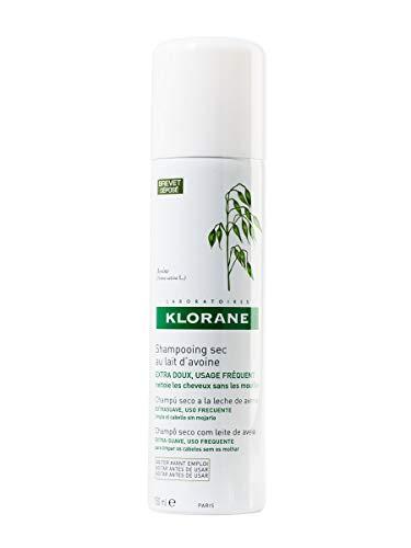 Klorane Shampoo Secco Extra-Delicato al Latte d Avena, 150 ml