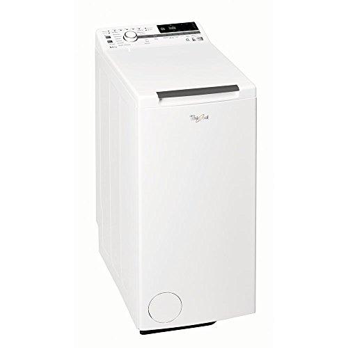 Whirlpool TDLR 65230 Toplader-Waschmaschine, freistehend, 6,5kg, 1200U/min, Energieeffizienzklasse A+++, Drehregler, LED