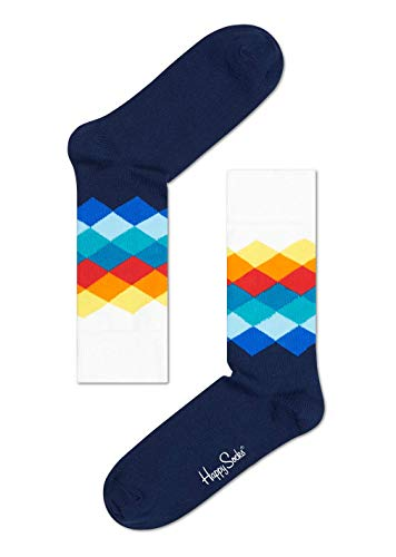 Happy Socks Hsfd01 - Chaussettes - Mixte - Multicolore - 36-40 (Taille fabricant: 36-40)