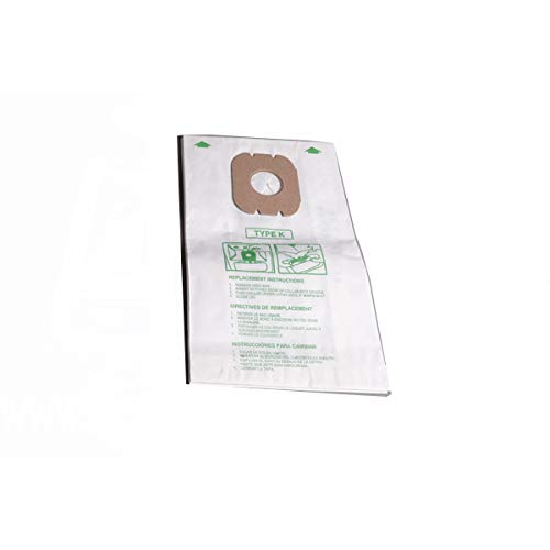 Replacement for Hoover Type K Spirit Canister Vacuum Cleaner 6 Paper Bags # 4010028K New York