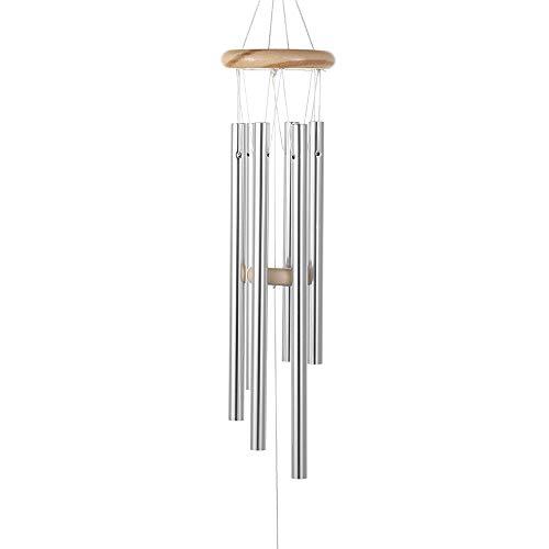 Baisede - Campana de viento grande para jardín, patio, decoración del hogar, colgante de metal, manualidades
