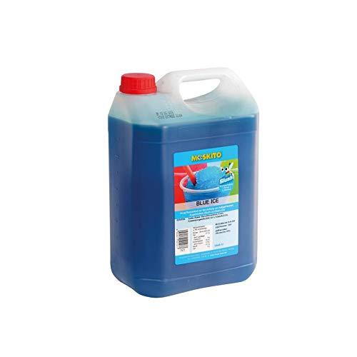 Sirup Slush Konzentrat Slush Ice / Slush AZO FREI Eis Blue Ice Früchte Mix Hell-Blau Schlumpf 5 Liter Ergibt 30 Liter Slush