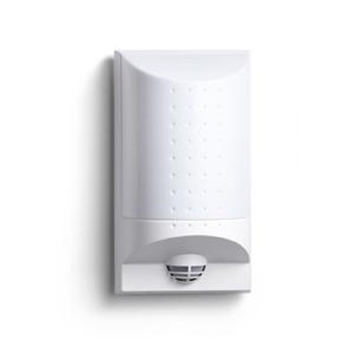 Steinel LED Wandleuchte mit Bewegungsmelder inklusive Hausnummer-Bogen/weiß / IP44 4033