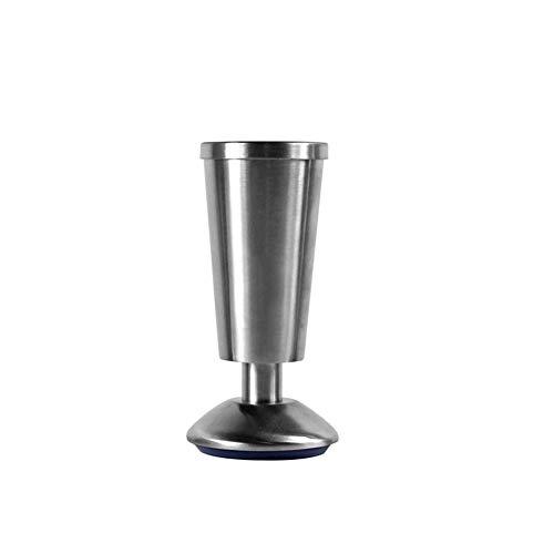Edelstahlmöbelstützbeine, verstellbare Schrankbeine, starke Tragfähigkeit, wasserdicht und feuchtigkeitsbeständig, geeignet für die Unterstützung von Fernsehschränken, Schränken, Kaffeetischen un