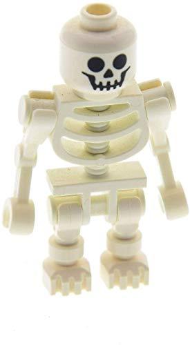 Lego weißes Skelett standart klassisch white skeleton Minifigur weiss FANTASY