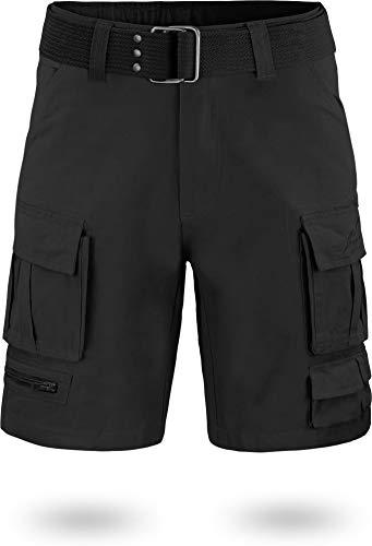 normani Kurze Bermudashorts/Arbeitshose/Feldhose erhältlich und in den Größen XS -XXL Farbe Schwarz Größe L