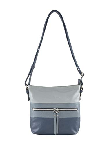 TOM TAILOR Damen Taschen & Geldbörsen Umhängetasche Ellen mixed blue,OneSize