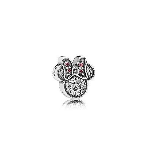 Pandora 796346CZ Women Locket Charms 925 Sterling Silver Cubic Zirconia