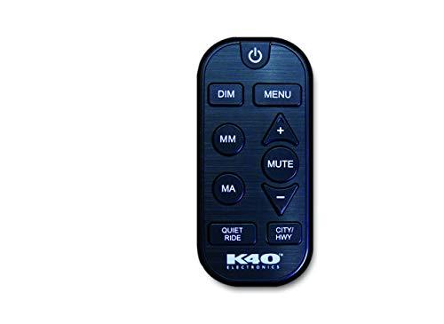 K40 Electronics Wireless RF Remote Control with Visor Clip for K40 Platinum Series Radar Detectors