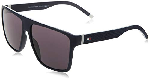 Tommy Hilfiger TH 1717/S gafas de sol, BLANCO AZUL, 59 para Hombre