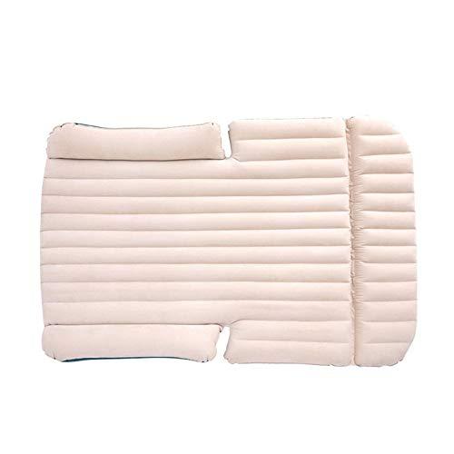 Strandzelt Auto-Spielraum-aufblasbare Matratze-Luft-Bett-Kissen, das ausgedehnte Luft-Couch des Universal-SUV kampiert Camping Zelt (Color : White, Size : 193 * 130 * 12CM)