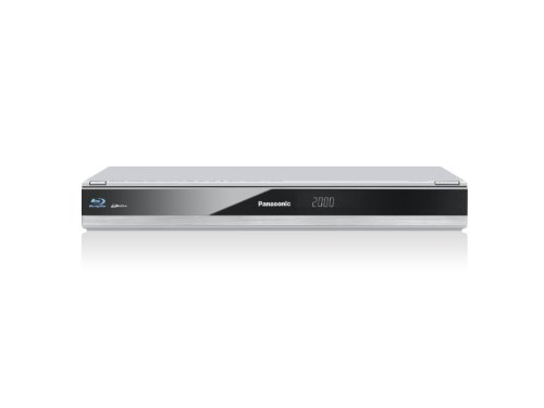 Panasonic DMR-BCT721EG 3D Blu-ray Rekorder 500GB (Twin-HD, DVB-C Tuner, HDMI, CI+, HbbTV, WLAN, USB) silber