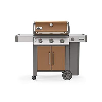 Weber 61025001 Genesis II E-315 3-Burner Liquid Propane Grill, Copper