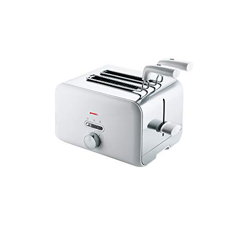 Guzzini Kitchen Active Design - Tostadora (28 x 19,5 x 17 cm), color blanco