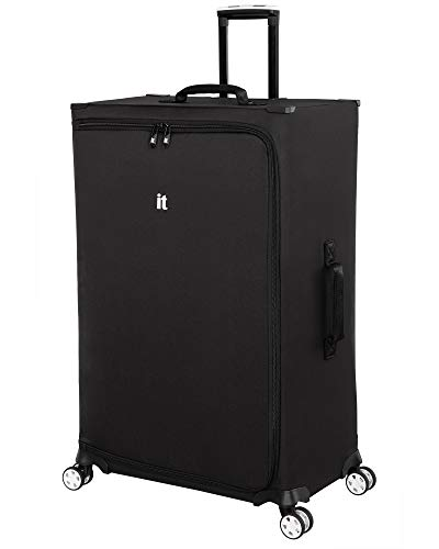 it luggage MaXpace Softside Spinner Wheel, Black, Checked-Large 31-Inch