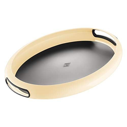 Wesco Tablett Spacy tray Oval, Mandel