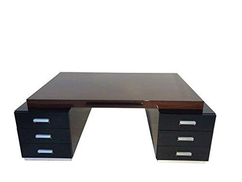 OAM Prachtvoller Bauhaus XXL Schreibtisch und Partner Desk