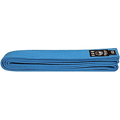 Tokaido Gürtel Blau Cinturón de Karate, Unisex Adulto, Azul, 315 cm