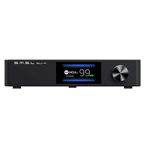 S.M.S.L Vollständiger Decoder, SU-9 MQA, ES9038PRO DAC, XMOS DSD512, PCM768kHz/32Bit, Bluetooth 5.0, UAT APTX-HD, USB, ausgleichender Decoder